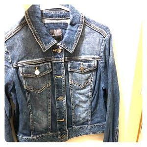 Women's The Limited Jean Jacket Size M